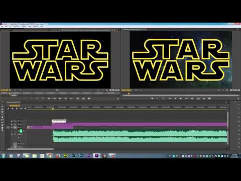 How to make Star Wars Opening in Adobe Premier