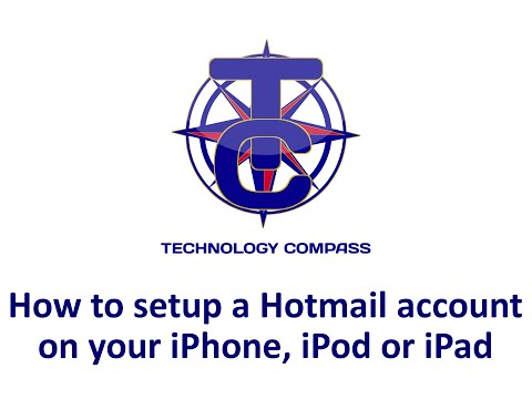 How to setup a Hotmail account on your iPhone, iPod or iPad