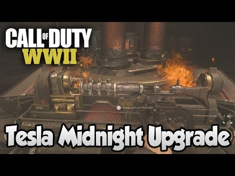 COD WW2 Zombies The Final Reich - Tesla Upgrade to Midnight Variant