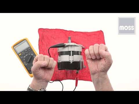 Alternator - How to test using a Voltmeter