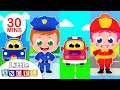 Policemen Vs Firemen What Do You Want To Be Kids Songs Nursery Rhymes By Little Angel