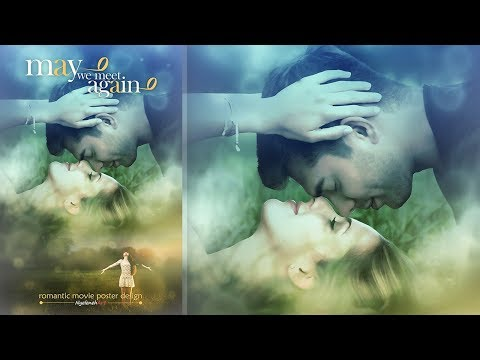 Romantic Movie Poster ~ Photoshop Manipulation Tutorial