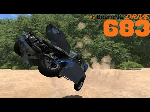 BEAMNG DRIVE #683 | Der rote Roamer | Let's Play BeamNG Drive mit GCG [Alpha] [HD]