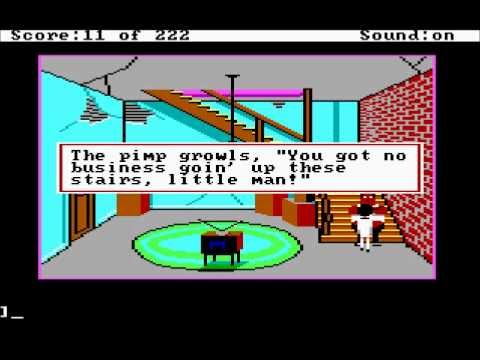 Easter Eggs, Things to Try, and Funny Messages: Leisure Suit Larry 1 EGA