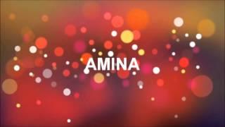 Joyeux Anniversaire Amina R