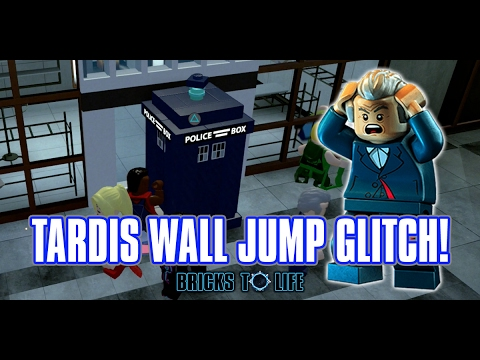 TARDIS Wall Jump Glitch Tutorial - LEGO Dimensions Doctor Who