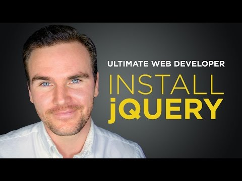 How to Install jQuery [#2] Ultimate Web Developer Course (Free Tutorial)