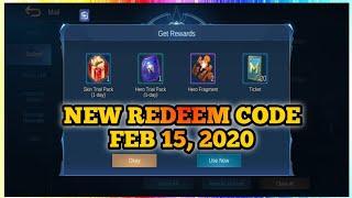 Mobile Legends Redeem Code Today - Michael Redmon