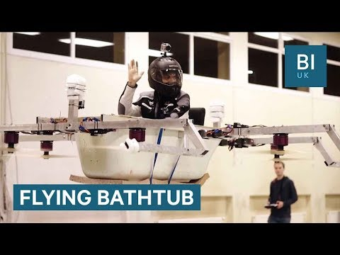 How 2 German Brothers Turned A Bathtub Into A Drone
