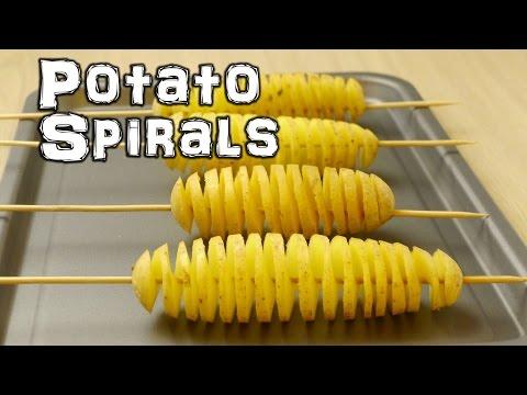 Spiral Potato - Chip on a Stick Life Hacks