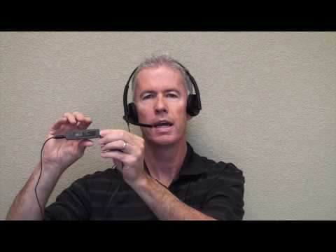 Plantronics C325.1 Corded USB & 3.5mm Headset Introduction