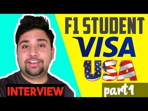 F1 Student Visa USA | Study Abroad  Part 1