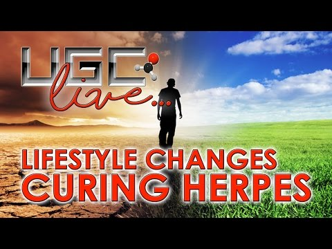 HOW TO CURE HERPES BY CHANGING YOUR LIFESTYLE - LIVE ANSWERS TO QUESTIONS!