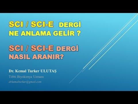 SCI dergi nasıl anlaşılır, SCI-E Dergi Arama; SCI dergi bulma; SCI Dergi listesi; Theumpson Reuters