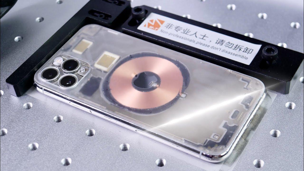 iPhone 11 & 11 Pro Laser Back Glass Fix! + Clear Mod