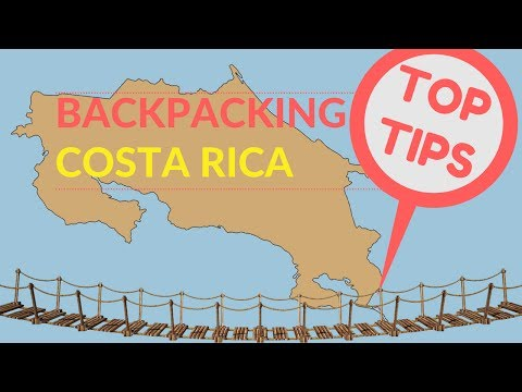 BACKPACKING COSTA RICA TOP TIPS