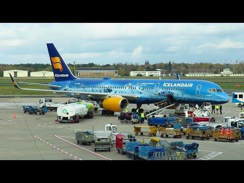 TRIP REPORT | Icelandair 757 | Reykjavik to Berlin TXL | INAUGURAL FLIGHT | Boeing 757-200
