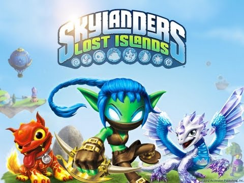 Skylanders Lost Islands iPhone, iPod Touch, and iPad HD Gameplay