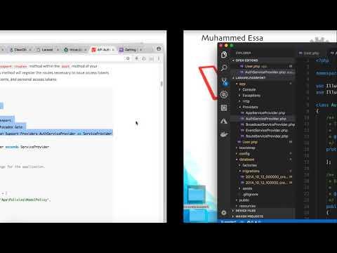 18   Laravel API with Passport and CRUD