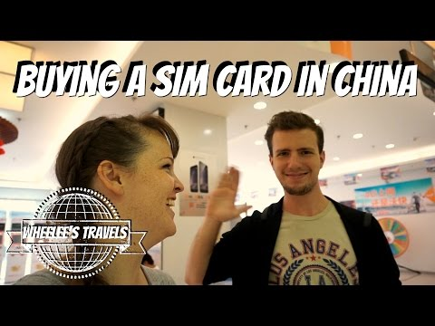 How to Get a Sim Card in China | Dalian | Wheelee's Travles