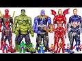Marvel Infinity War Avengers Bigger And Smaller Transform Hulk Thanos Spider Man DuDuPopTOY