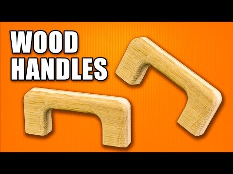 How to Make a Wood Handle / Wooden Handles for a Woodworking Jigs