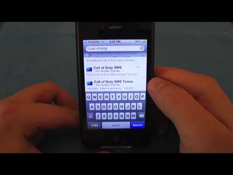 How to Get COD MW2 SMS Tones on iPhone 4/3GS/3G