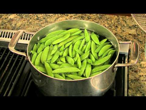 Cooking Sugar Snap Peas - How to