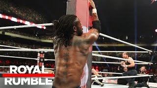 Kofi Kingston pulls off another miraculous save in the Royal Rumble Match: Royal Rumble 2017
