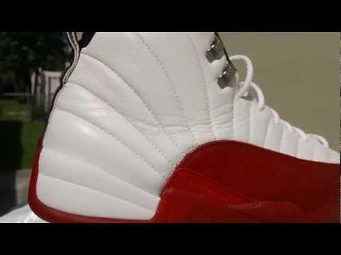 9ac9a083acd Air Jordan 12 XII OG 1997 Cherry Bulls White   Varsity Red   Black Size 11.5