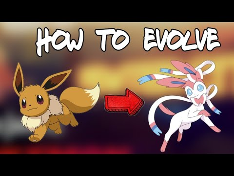 How to evolve Eevee into Sylveon (Project Pokemon)