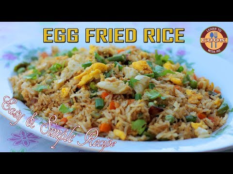 Egg Fried Rice Recipe || Make Restaurant Style Egg Fried Rice at Home || Easy & Quick Recipe