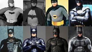 Batman Actors: 1943, 1949, 1966, 1989, 1995, 1997, 2005, 2016