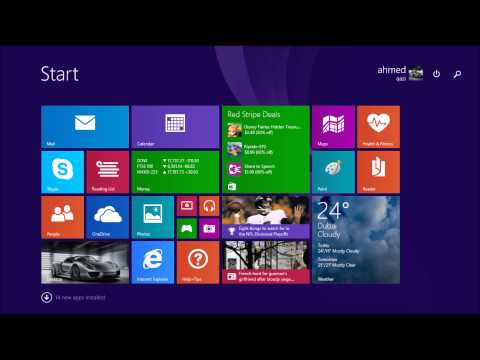 how to change startup wallpaper in windows 8/8.1