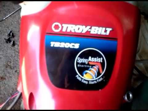 Troy-bilt starter rope help