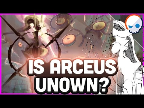 Pokemon Theory: Arceus and THE POWER OF THE UNOWN! | Gnoggin