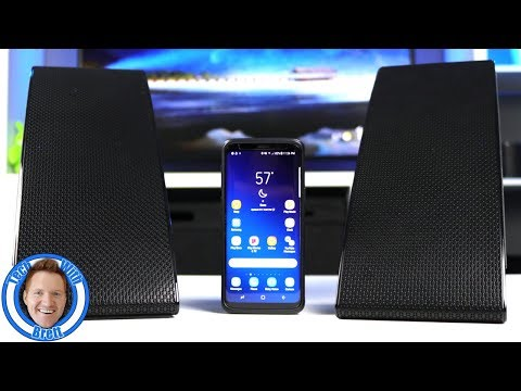 Galaxy S9 Dual Audio, 2 Bluetooth Speakers 1 Phone