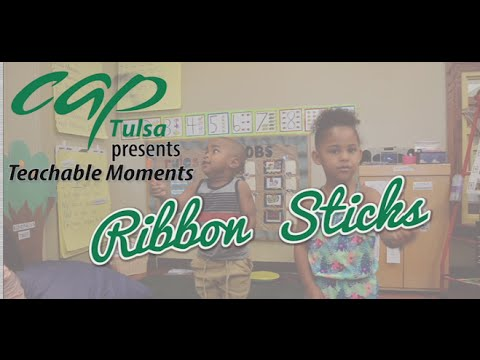 Teachable Moments: DIY Ribbon Stick