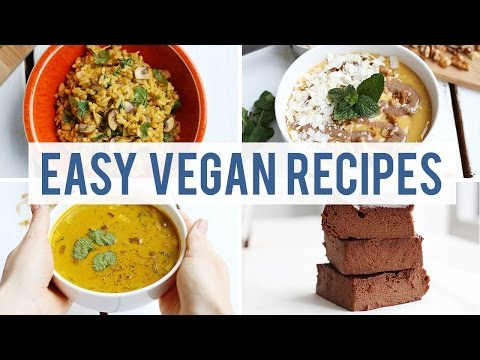 EASY VEGAN RECIPES FOR LAZY DAYS | Fablunch