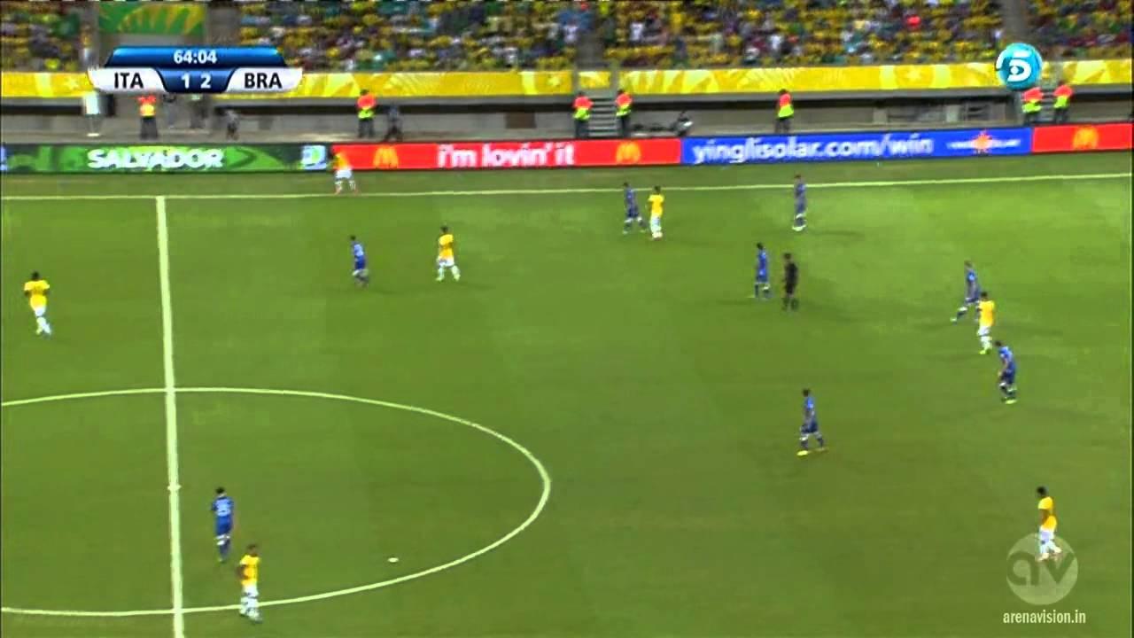 FIFA Confederations Cup 2013 | Italy vs Brazil | Second Half