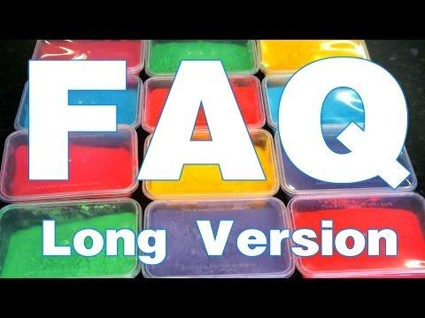 FAQ : Long Version : How to make Colored powder : Holi powder :