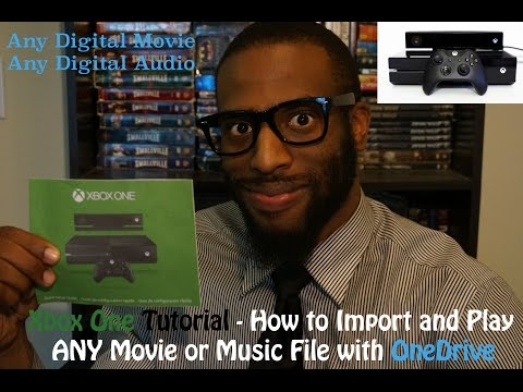 Xbox One Tutorial - How to Import and Play ANY Movie or Music File