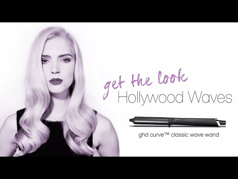 How to Get Hollywood Waves with the ghd Curve Classic Wave Wand | Sephora