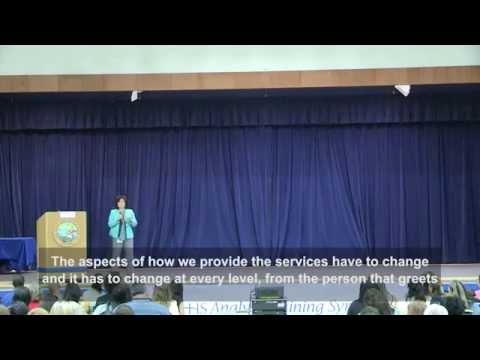 Customer Service by Juney Lee at CHHS Analyst Training Symposium (June, 2014)