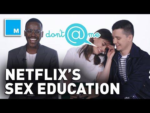Xxx Mp4 The Cast Of 39 Sex Education 39 Plays Quot Don 39 T Me Quot Exclusive Interview 3gp Sex