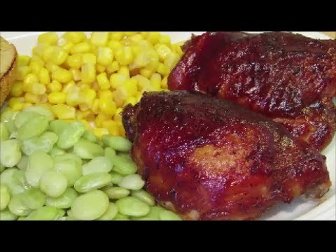 How To Make BBQ Chicken In The Oven - Easy Barbecue Chicken Recipe