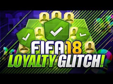 FIFA 18 FASTEST GET LOYALTY GLITCH!