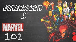 Generation X - Marvel 101
