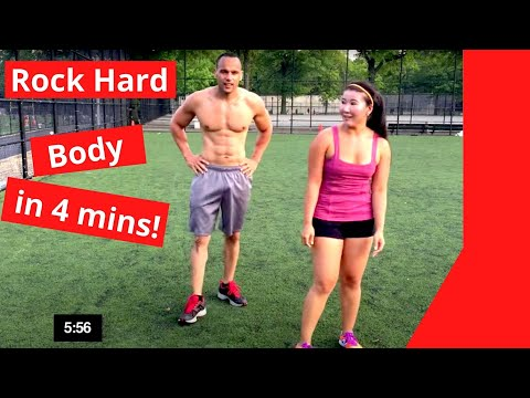 4 minutes to ROCK HARD BODY- #NeverQuit Fitness