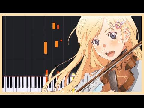 Haru no Kaori (Kaori's Spring) - Shigatsu wa Kimi no Uso [Piano Tutorial] (Synthesia) // Torby Brand